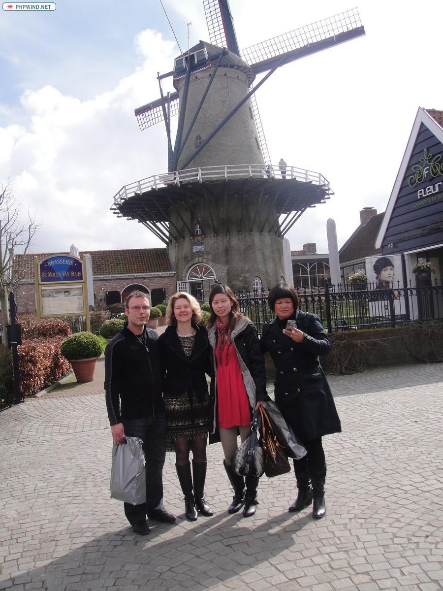 荷兰风车!