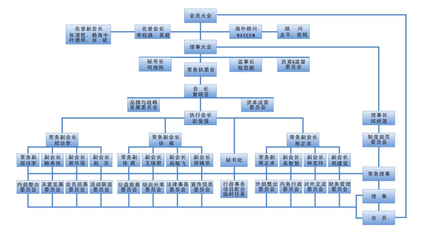 深圳网商会组织架构