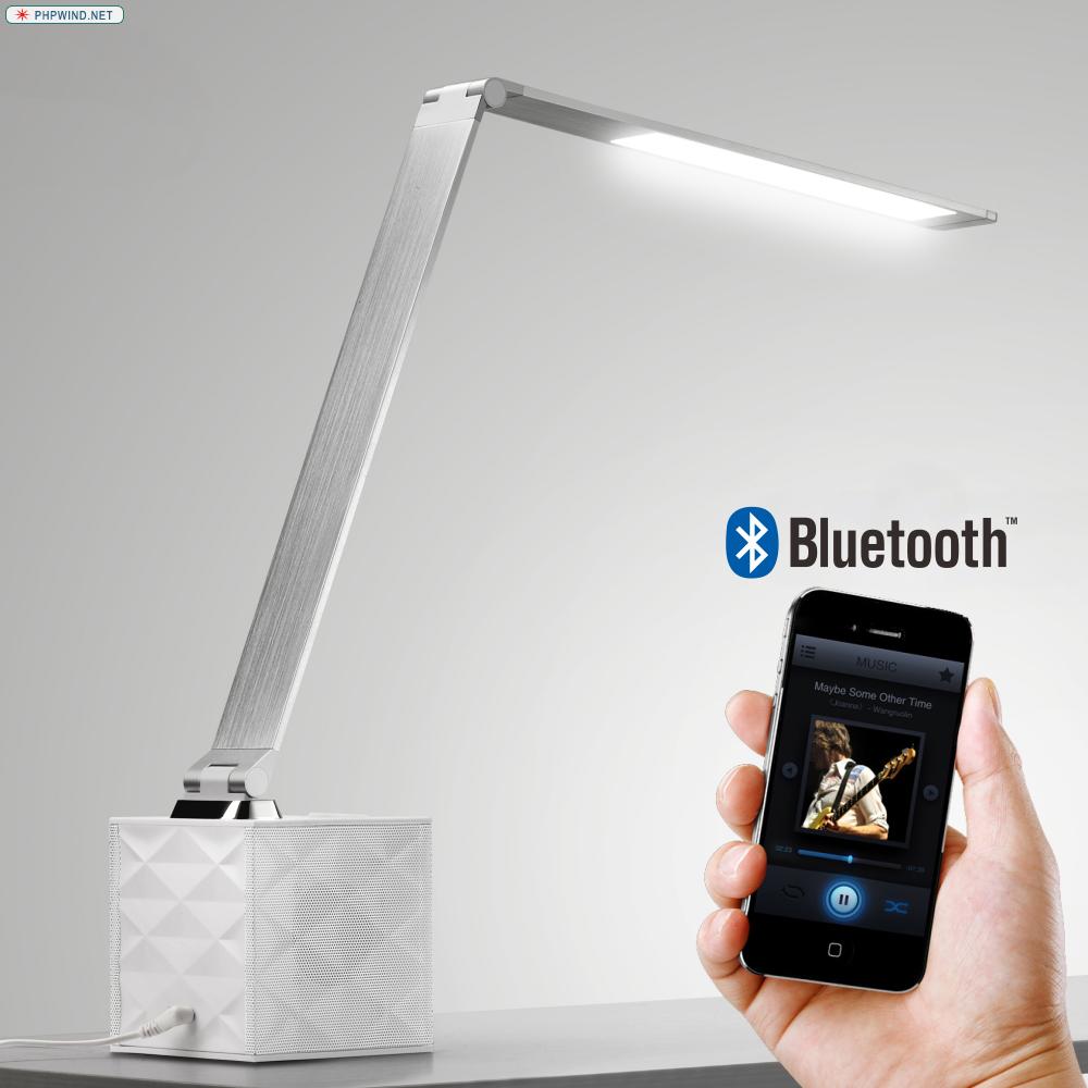 M2 Bluetooth Speaker LED Panel Light MFGA LED Table lamp