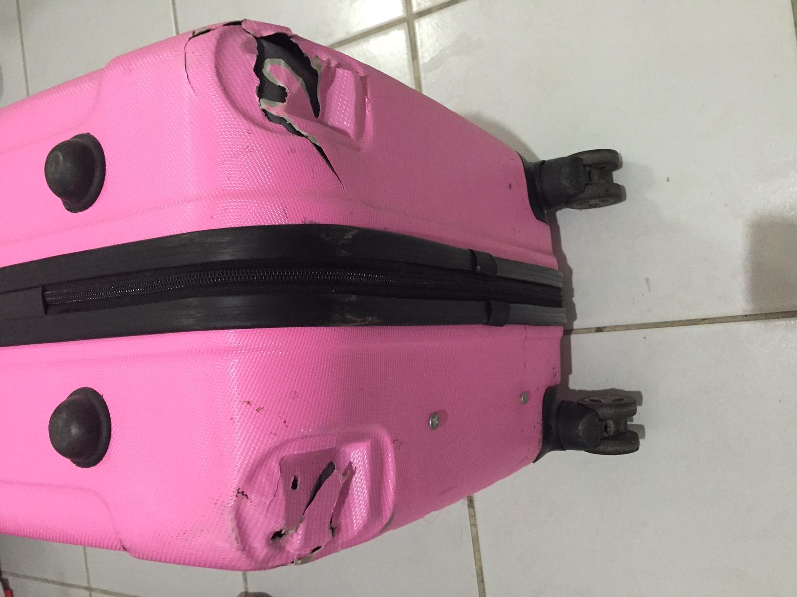 被找回的行李箱