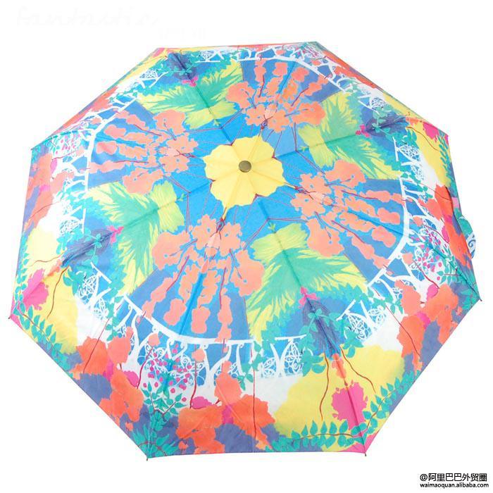 天气热了,这款时尚雨伞陪你走过夏天