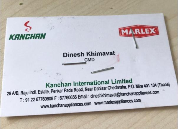 印度骗子名片