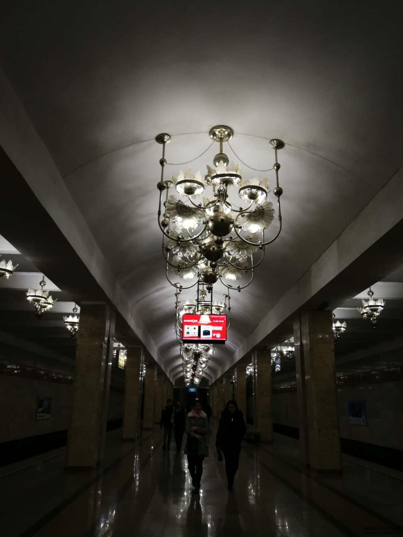 古色古香的地铁站