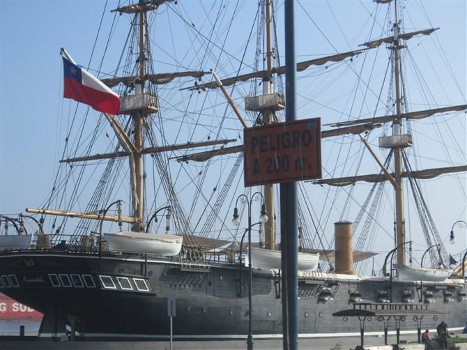 IQQ,la cuidad de chile.este el norte.este barco este muy famoso en chile.hacer cien anos de historia